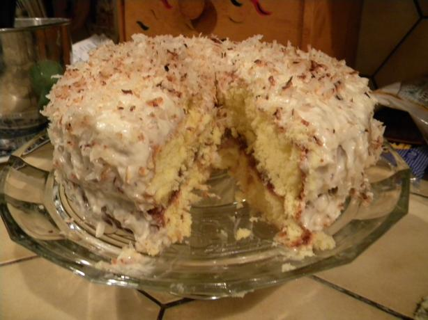 Coconut Delight Cake