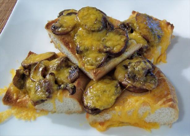 Mushroom Toasties