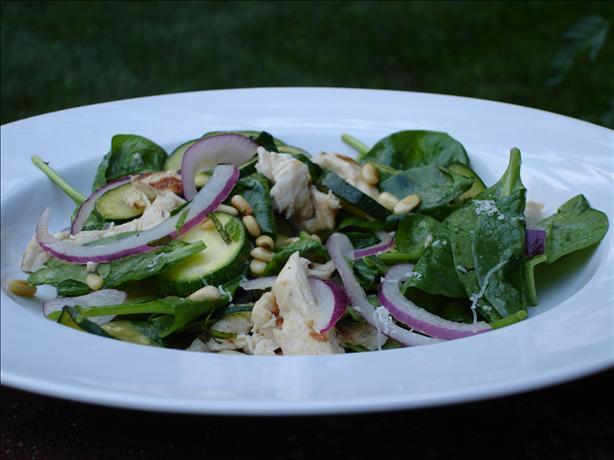 Zucchini Chicken Salad