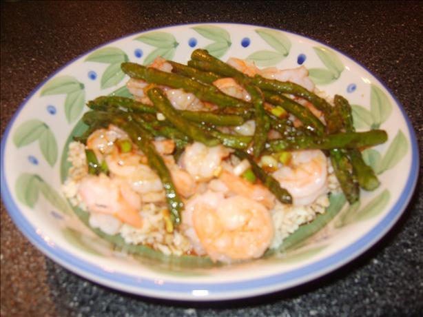 Sesame Shrimp & Asparagus