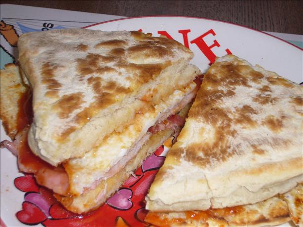 Hot Breakfast Sandwich