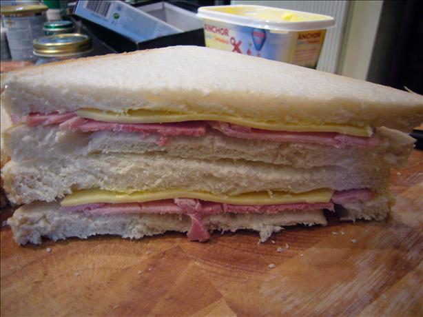 Ham, Cheese and Mayo Sandwich