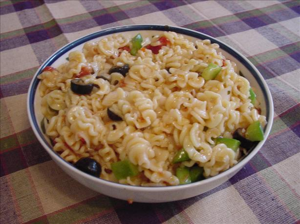 Off the Shelf Pasta Salad