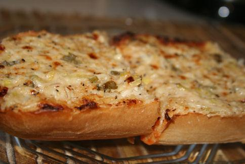 Parmesan Bread Deluxe