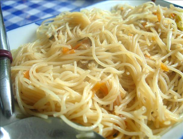 Vegetarian Fried Vermicelli (Fried Bee Hoon)