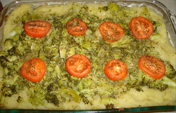 Squash and Broccoli Casserole