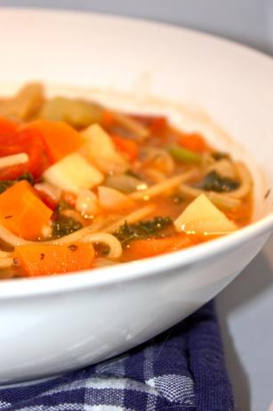No Fat Minestrone Soup