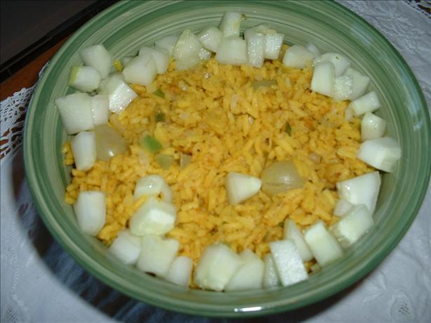Polynesian Rice (Rice Cooker Recipe)