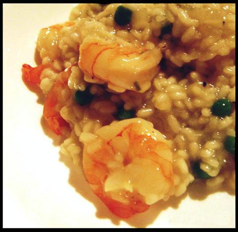 Low Fat Prawn Risotto