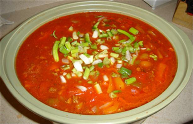Crock Pot Sweet Pepper Sauce