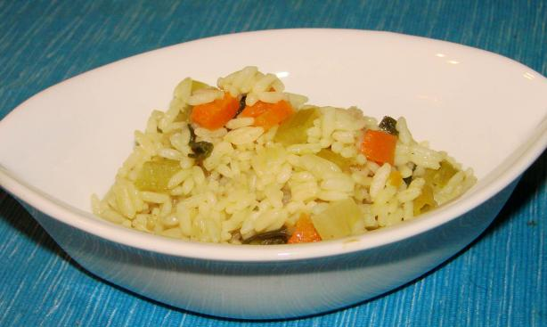 Oven-Cooked Rice Pilaf