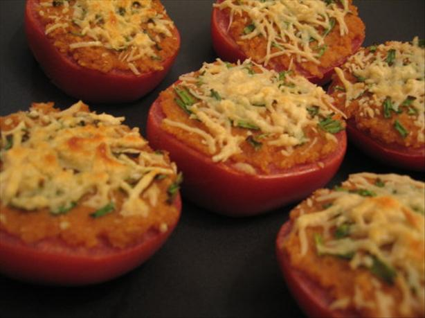 Broiled Tomatoes With Horseradish