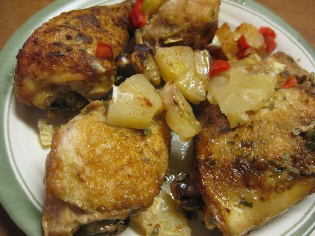 Tropical Crock Pot Chicken