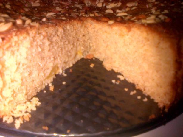 Fresh Nectarine Cake