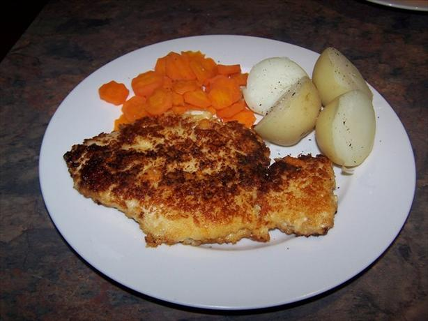 Cheese Crusted Chicken