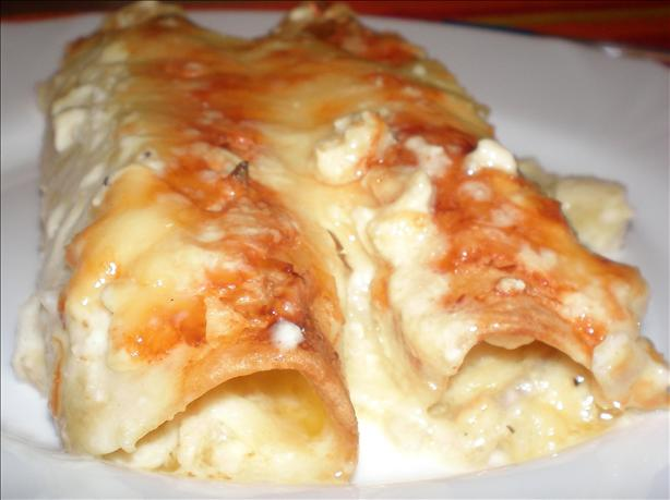 Steph's Chicken Enchiladas