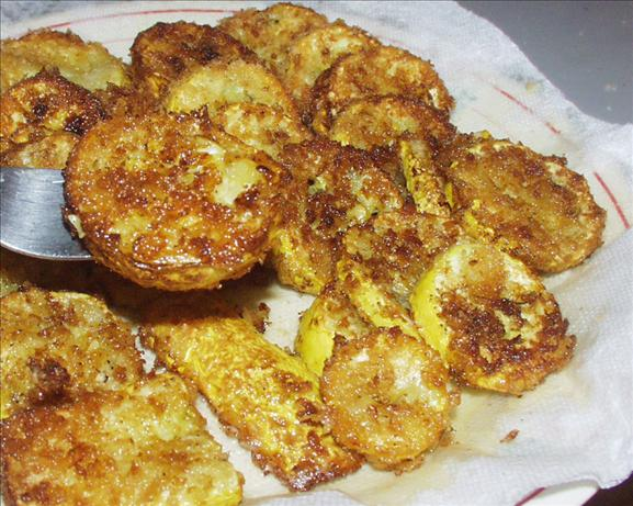 My Version of Fried Squash