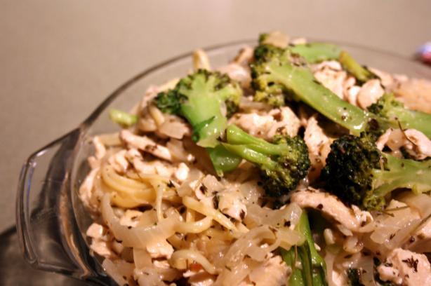 Broccoli-Pasta Alfredo