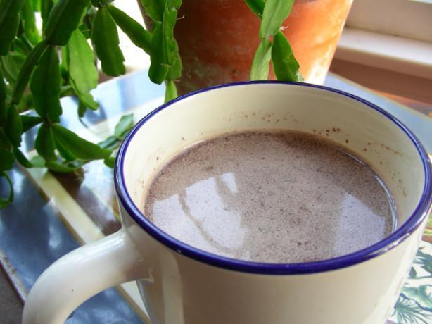 Microwave Hot Chocolate