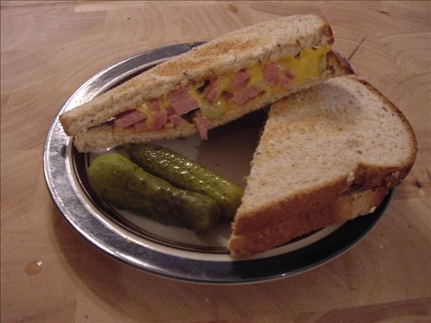 Spam'n Cheese Sandwich