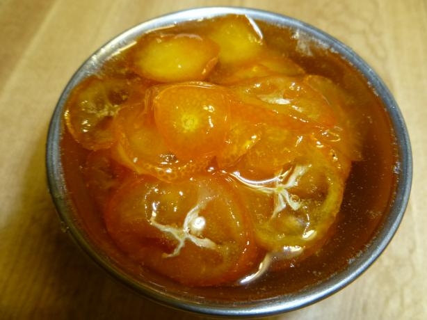 Candied Kumquats in Syrup