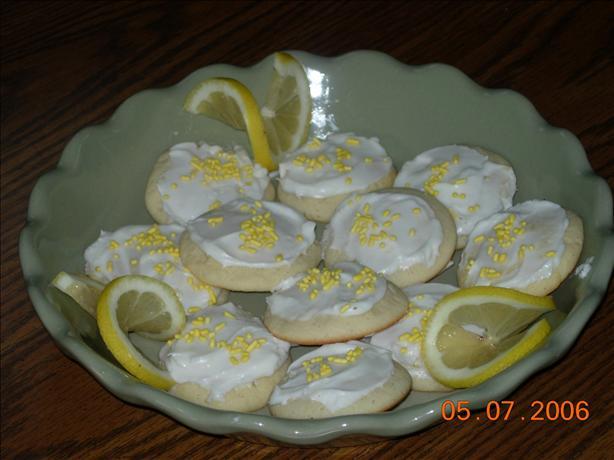 Lightly Lemon Cookies