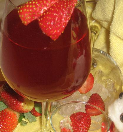 Strawberry Water (Or Strawberry Cordial)