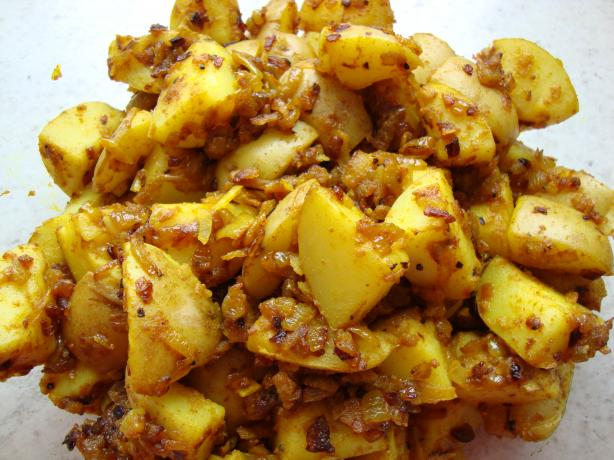 Gujarati Potatoes