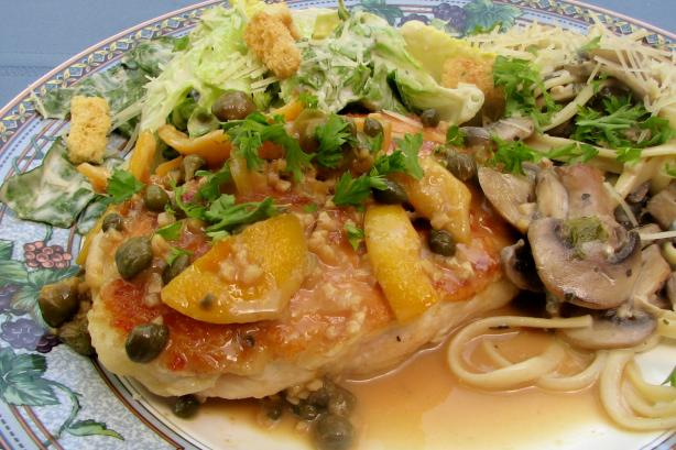 Very Easy Chicken Piccata