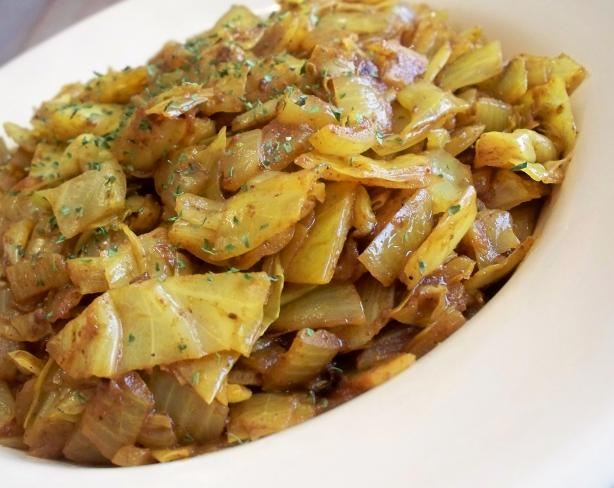 Mummy's Cabbage Curry