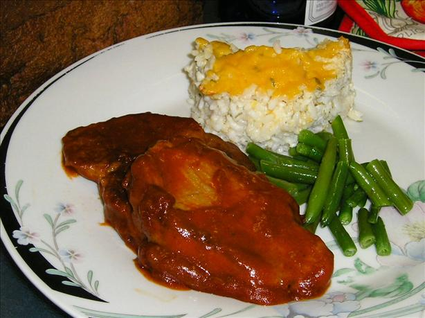 Chili Pork Steak