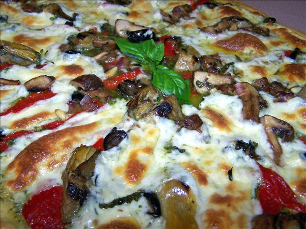 Diva-Licious Pesto Pizza