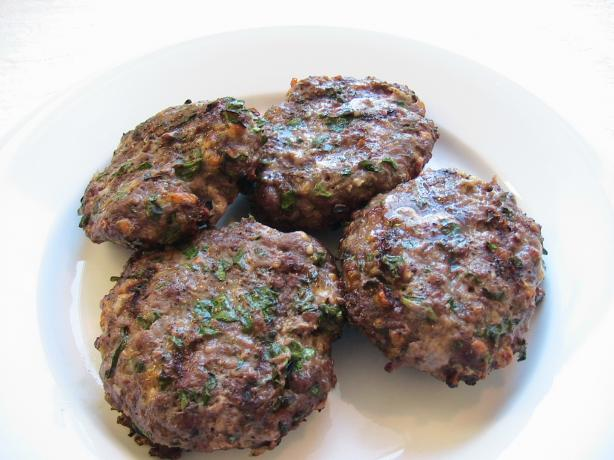Spinach Burgers