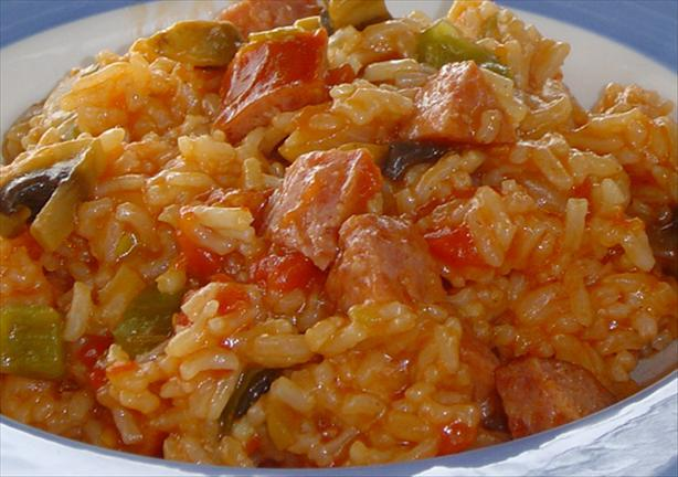 Rice Cooker Jambalaya