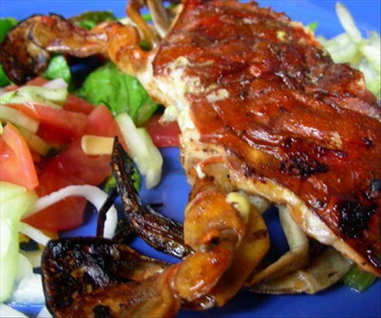 Grilled Soft Shell Crabs With Jicama Salad