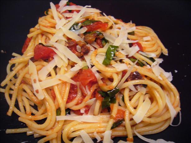 Healthy Pasta Puttanesca