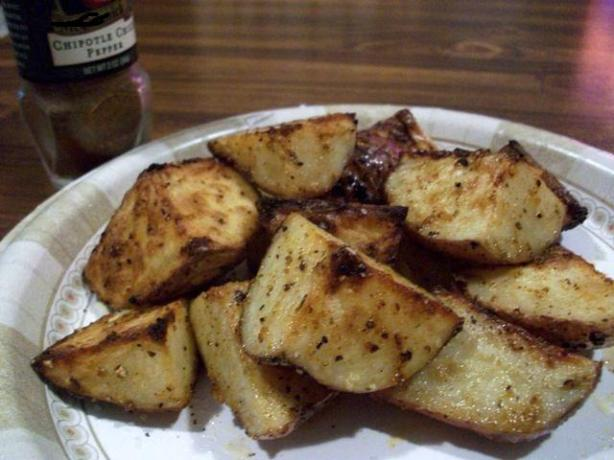 Spicy Baked New Potatoes