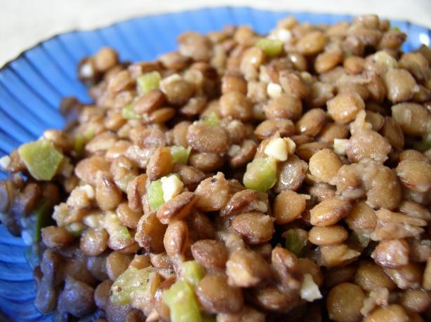 Lentil Salad (yemiser Selatta)
