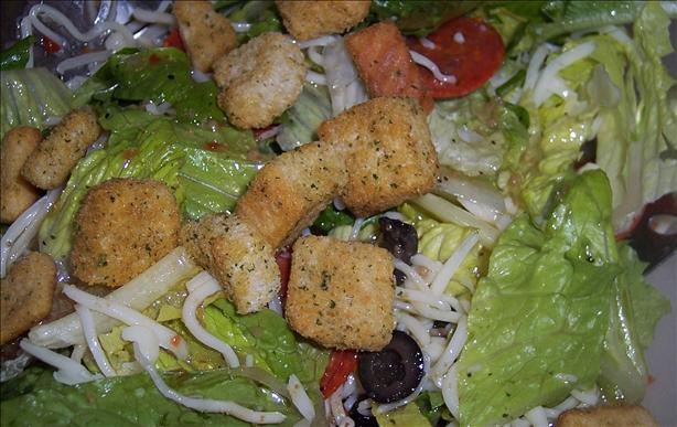 Pizza Style Tossed Salad