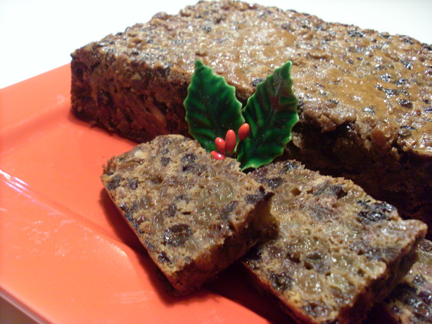 Easy Mocha Fruitcake (Christmas)