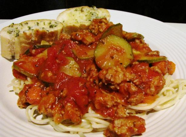Heart Friendly Spaghetti Sauce