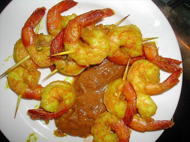 Prawn (Shrimp) Satay