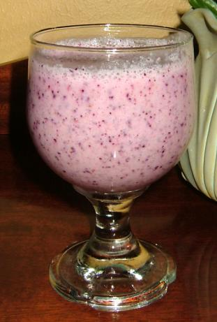 Apple Blueberry Smoothie
