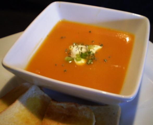 Pumpkin Soup With a Kick