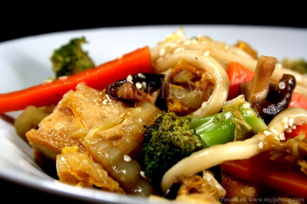 Udon Noodles With Broccoli