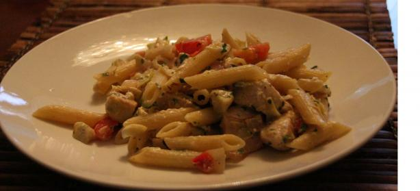 Greek Penne and Chicken