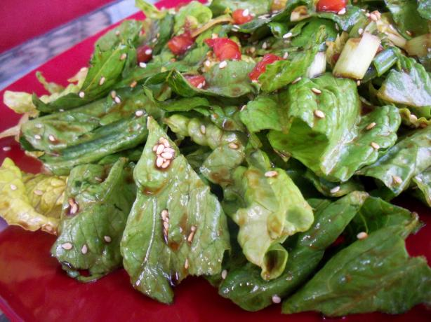 Sesame Green Salad