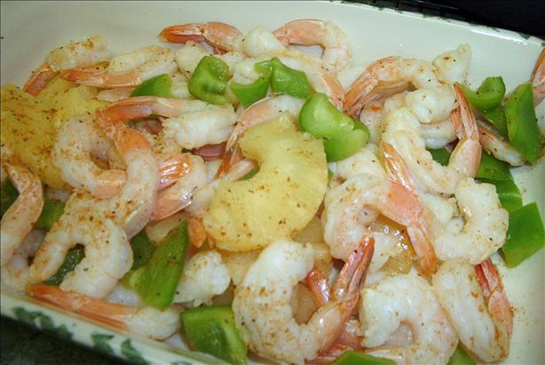 Pineapple Shrimp Packets