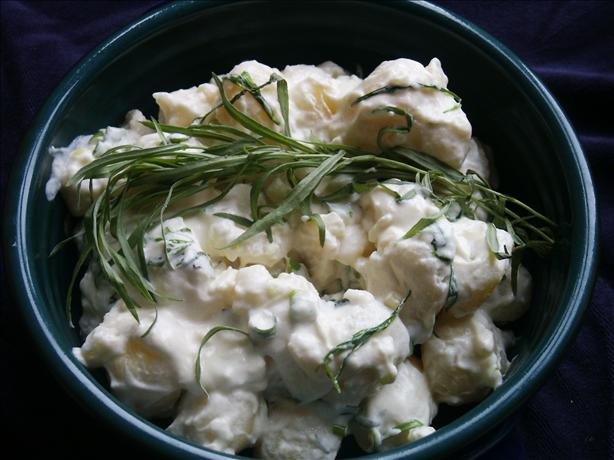 New Potatoes With Tarragon Cream
