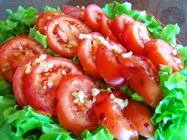South Africa Tomato Salad